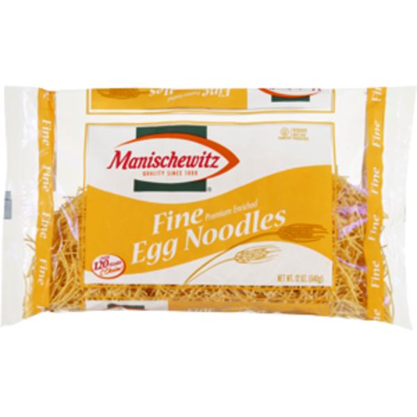manischewitz fine egg noodles 12 oz  the crown market