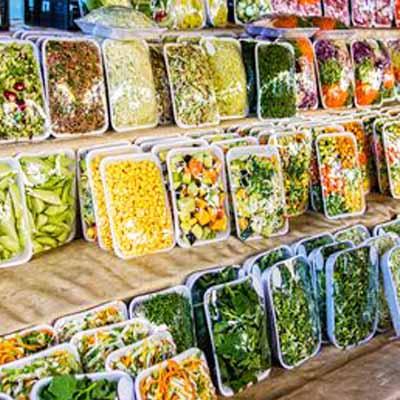 Packaged Fruits & Vegetables